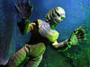 Mego Creature from the Black Lagoon Figure in Action!