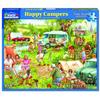 Happy Campers (1337pz) - 1000 Piece Jigsaw Puzzle