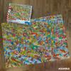 Where's Waldo with Dinosaurs 1000 Piece Puzzle by Aquarius