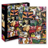 Hammer Horror Films Movie Poster Collage Puzzle