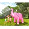 Pink Elephant Yard Sprinkler in Action