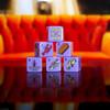 Friends - 6 Piece Dice Set