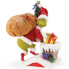 Ho, Ho, Ho! Grinch Chimney Fabriche Figure