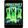 Minecraft Creepers Throw Blanket