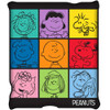 Peanuts Characters Throw Blanket Full View