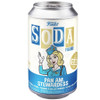 Funko Vinyl SODA Figure:  Pan Am Stewardess Soda Can View