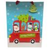 Fa-La-Llama Set of 4 Gift Bags - Bus Bag