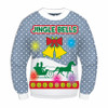 Jingle Bells Sweater with Lights and Sound Flat