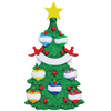 Seven - Green Christmas Tree Personalized