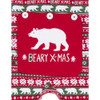 Beary Xmas Baby Christmas Onesie Union Suit PJs by Hatley