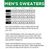 Men's Size Chart Tipsy Elves