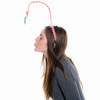 Pucker up with our Mistletoe headband
