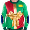Christmas Present with Bow Ugly Sweater