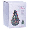 """16"""" Green Light-Up Ceramic Christmas Tree Boxed View"""