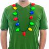 Big Retro Bulb LED Christmas Necklace