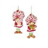 Strawberry Shortcake Ornaments - SET of 2