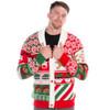 Sweet Treats Ugly Christmas Sweater Cardigan - men