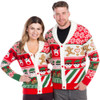 Sweet Treats Ugly Christmas Sweater Cardigan - his and hers