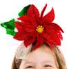 Festive Poinsettia Headband 1