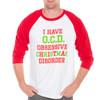 Obsessive Christmas Disorder T-shirt - men