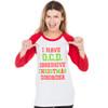 Obsessive Christmas Disorder T-shirt - women