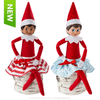 Twirling in the Snow Skirts  dolls