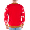 Crappy Holidays Sweater Rear