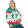 Elf Ginormous Sweater on Her