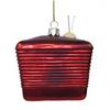 Back - I Love Lucy Santa TV Ornament