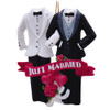Just Married (Groom/Groom) Personalized Ornament