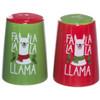 Fa La La La Llama Salt and Pepper Shaker