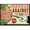 Harry Potter Protect Against the Dark Arts Magnet