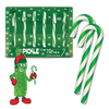 Pickle flavoured Candy Canes