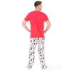 Hockey Night Men's Sleep Pants - back