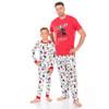 Hockey Night Men's Sleep Pants - matching kids