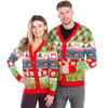 The Nightcap Before Christmas Cardigan Sweater Couple