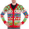 The Nightcap Before Christmas Cardigan Sweater Close-Up