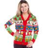 The Nightcap Before Christmas Cardigan Sweater Women's