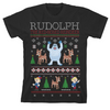 Rudolph the Red-Nosed Reindeer Ugly Sweater T-Shirt