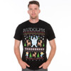 Rudolph Ugly tee on man