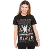 Rudolph ugly tee on woman