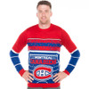 NHL Montreal Canadiens Light Up Sweater - Front