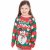 Let It Snow Matching Ugly Sweater Shirt for Youth