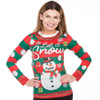 Let It Snow Matching Ugly Sweater Shirt for Women