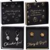 Silver Jingle Bells or Gold Bow Earrings