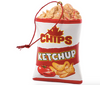 Ketchup Chips Canadian Christmas Ornament