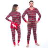 Fair Isle Moose Adult Christmas Onesie Pajamas by Hatley