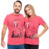 Santa Jack - Nightmare Before Christmas T-Shirt Couple