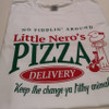 Little Nero's Pizza T-Shirt - Flat