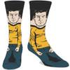 Star Trek Captain Kirk 360 Image Crew Socks by Bioworld